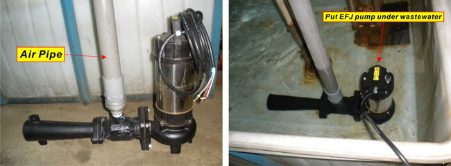 EFJ Submersible ejector pump(Aerator)