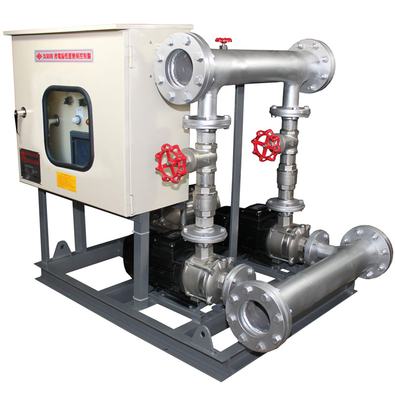 UP Inverter Control Booster Pump Systems (Duplex).