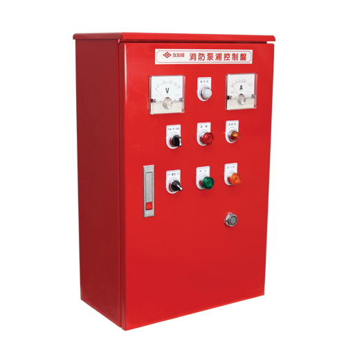 Control Panel for Fire Pumps.