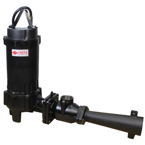 EAFJ Heavy duty submersible ejector pump.