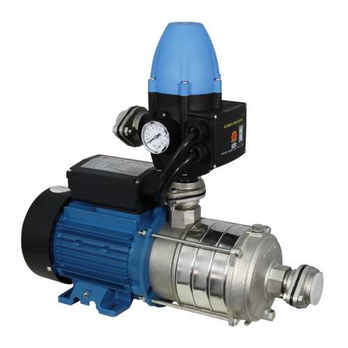 ECF Electronic auto booster multi-stage pumps.