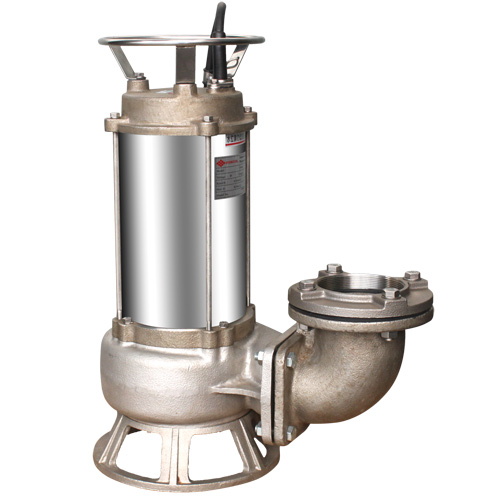 EFS Stainless Steel Submersible Sewage Pumps.