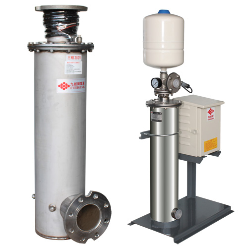 ETS Stainless Steel Vertical In-line Pumps.